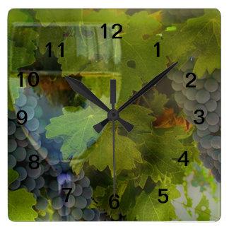 Wine Lover Clock