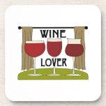 Wine Lover Drink Coasters