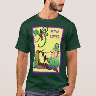 Wine lover in the vineyard T-Shirt