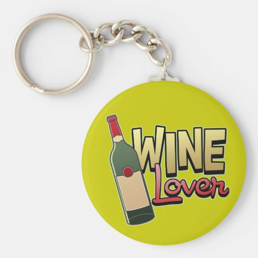Wine Lover Key Chains