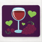 Wine Lover Mouse Pad
