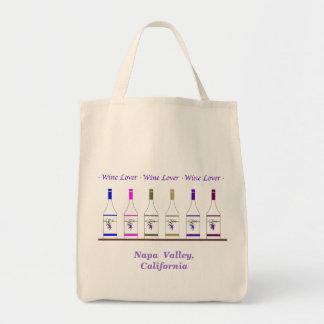 WINE LOVER-Napa Valley, CA Canvas Bag