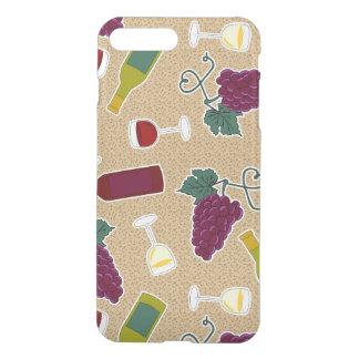 Wine Lover Pattern iPhone 7 Plus Case