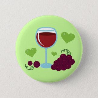 Wine Lover Pinback Button