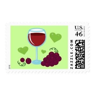 Wine Lover stamp