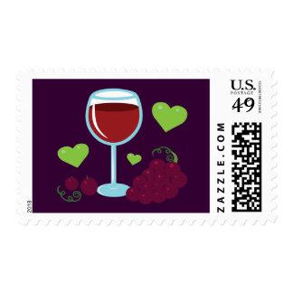 Wine Lover Postage