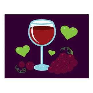 Wine Lover Postcard