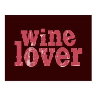 Wine Lover Post Cards