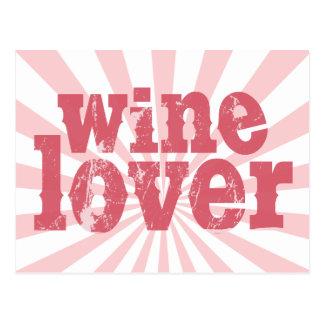 Wine Lover Postcards