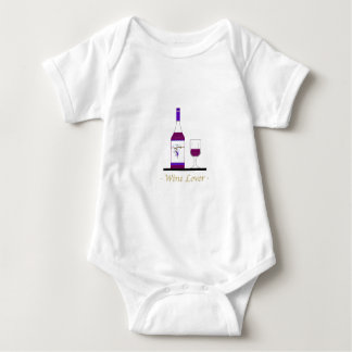 WINE LOVER (SINGLE BOTTLE) BABY BODYSUIT