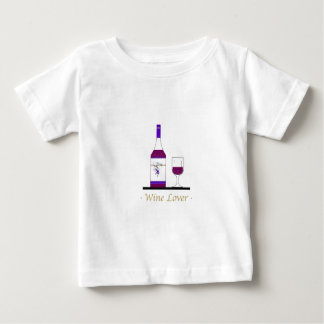 WINE LOVER (SINGLE BOTTLE) BABY T-Shirt