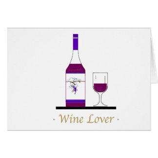 WINE LOVER (SINGLE BOTTLE) CARD