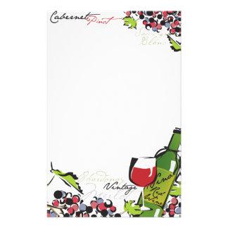 Wine Lover Stationery