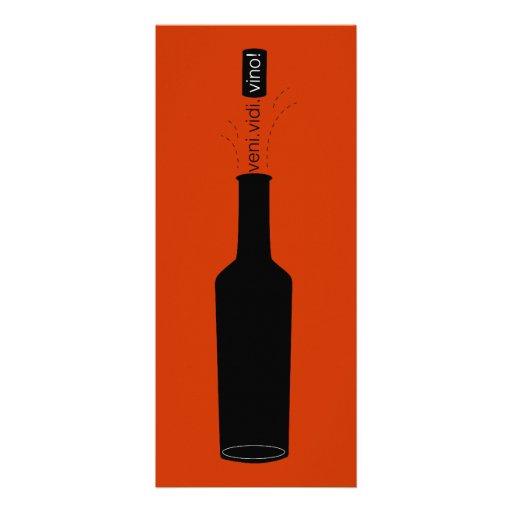 Wine Lover Veni Vidi Vino Wine Tasting Invite