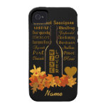 Wine Lover's custom iPhone 4 Case-Mate Case For The iPhone 4