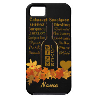 Wine Lover's custom iPhone 5 Case-Mate iPhone SE/5/5s Case