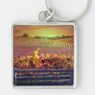 Wine Lover's Keychain
