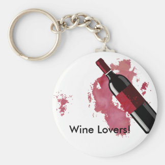 Wine Lovers Keychain