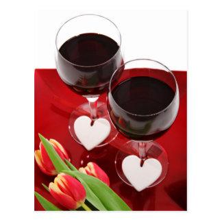 Wine Lovers postcard