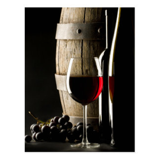 Wine Lover's postcard