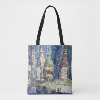 Wine Lovers Tote Bag