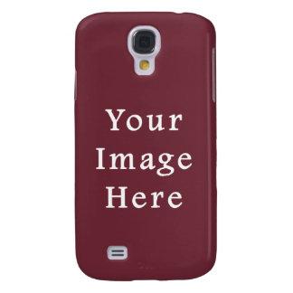 Wine Magenta Color Trend Blank Template Samsung Galaxy S4 Case