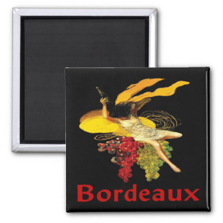 Wine Maid Bordeaux Magnet