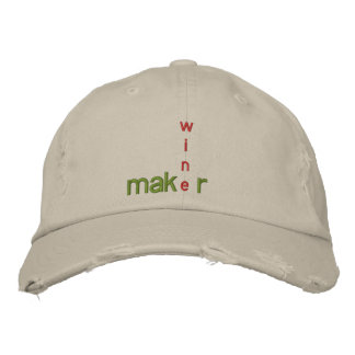WINE MAKER GEAR CAP