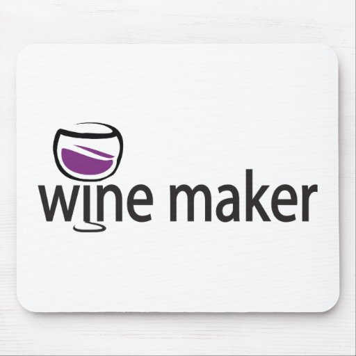 Wine Maker Mouse Pad