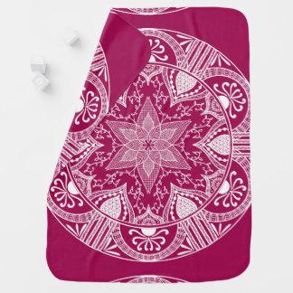 Wine Mandala Stroller Blanket