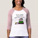 Wine Mellows Me T Shirts
