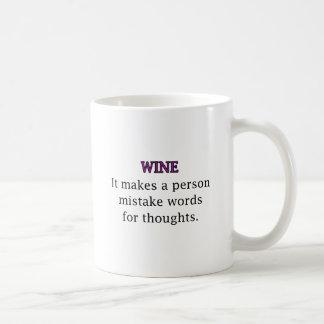 Wine Mistakes Coffee Mug
