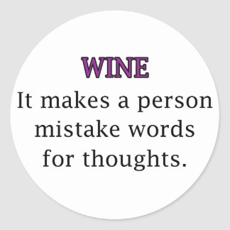 Wine Mistakes Stickers