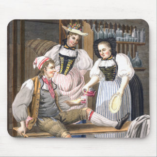 Wine Mistresses of Bern - Swiss Costumes Mousepad