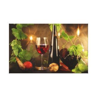 Wine mood… canvas print