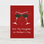 Wine Mother's Day Card for Daughter