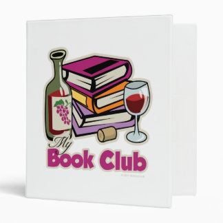 Wine: My Book Club 3 Ring Binder