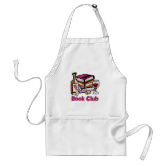 Wine: My Book Club Adult Apron