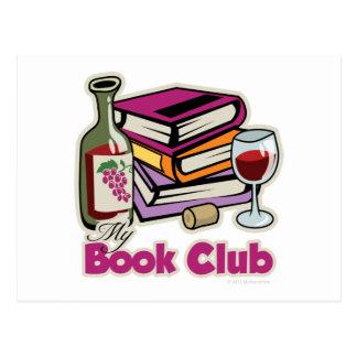 Wine: My Book Club Postcard