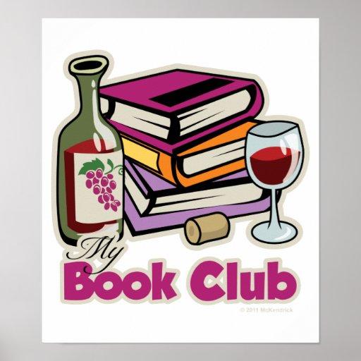 Wine: My Book Club Poster