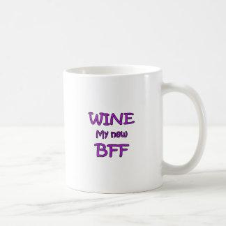 Wine My New BFF Coffee Mug
