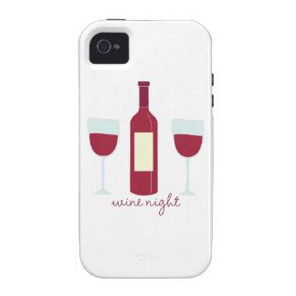 Wine Night Case-Mate iPhone 4 Case
