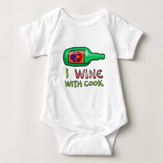 Wine Nipping Baby Bodysuit