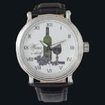 "Wine O&#39;clock Fun Watch<br><div class=""desc"">for Wine lovers!</div>"