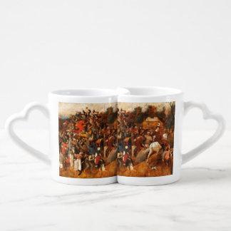 Wine of Saint Martin's Day by Pieter Bruegel Coffee Mug Set