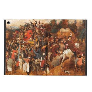 Wine of Saint Martins Day by Pieter Bruegel iPad Air Case
