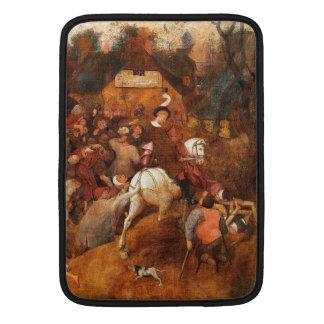 Wine of Saint Martins Day by Pieter Bruegel MacBook Air Sleeves