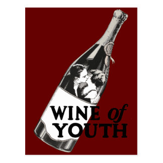 Wine of Youth Postcard