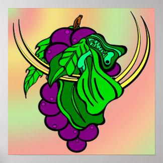 Wine on the Vine Canvas Print
