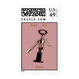 Wine Opener Postage Stamp